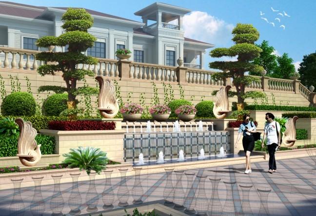 韦斯特地产景观设计师规划广和观澜壹号景观设计